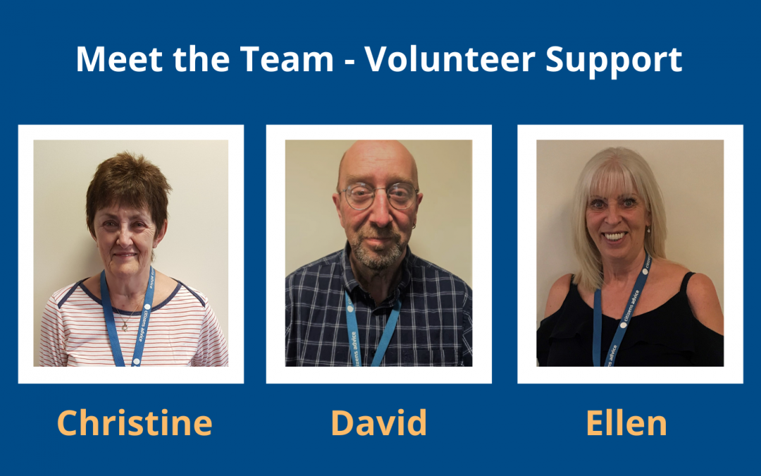 Meet the team – Our Volunteer Support Team