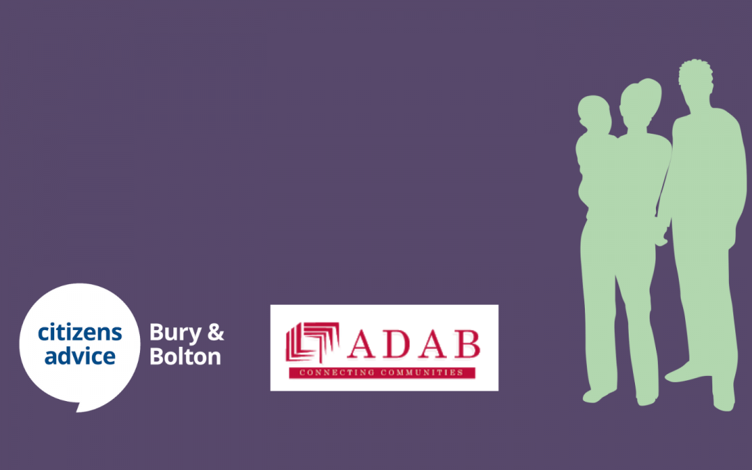 How we're working with ADAB to support Bury residents