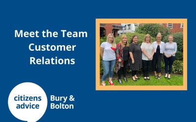 Meet the Team – Customer Relations